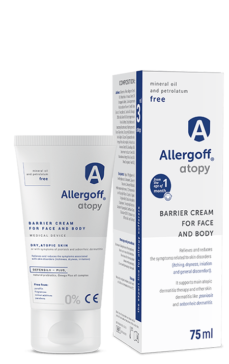 Allergoff Barrier Cream for face and body - image